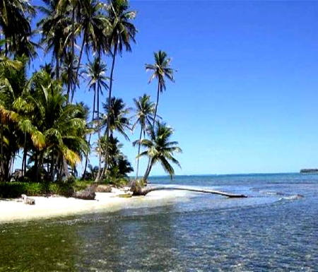 10 acres of Titled Caribbean Beachfront Property, Panama
