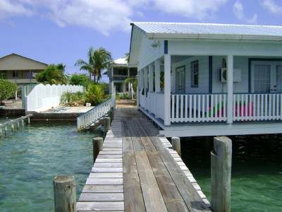 Ocean Front Rental Income Property, Bay Islands