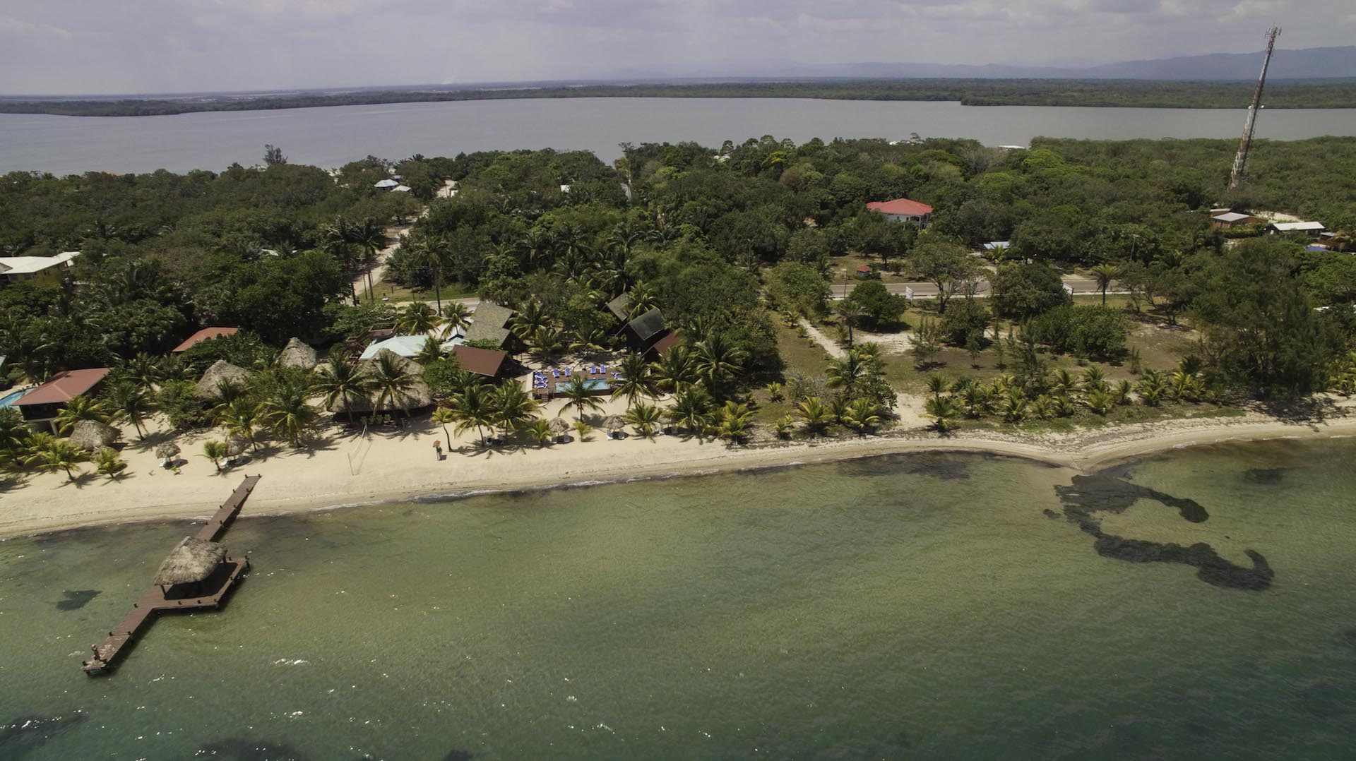 Belize Beachfront Resort with Beach Houses