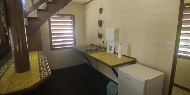 R125 - Green Parrot - Beach house -kitchnette area
