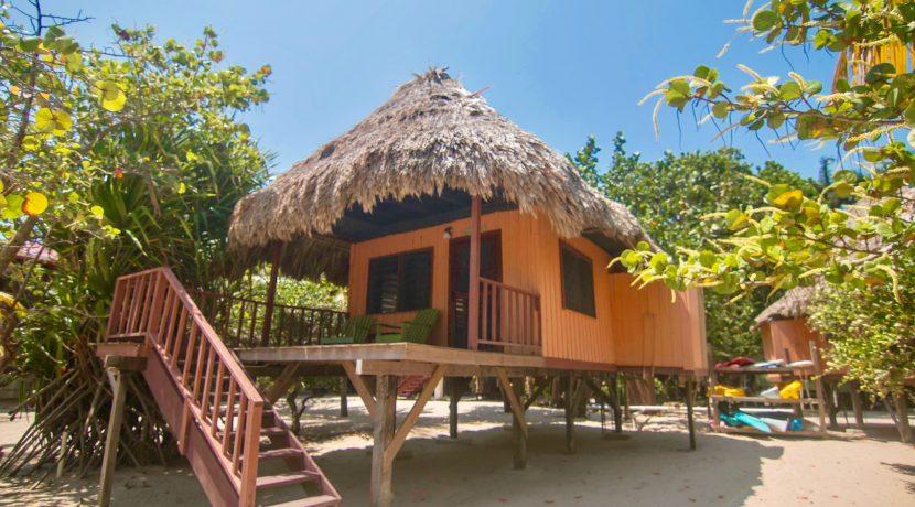 R125 - Green Parrot - Beach tatched Cabana - exterior