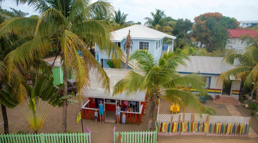 Y249 - Placencia Village Commerical property - 3 building