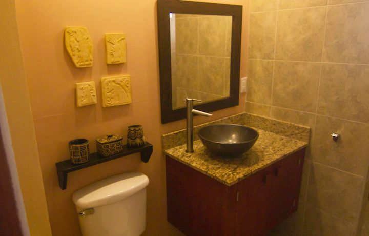 Y254 - Tiki unit  - bathroom