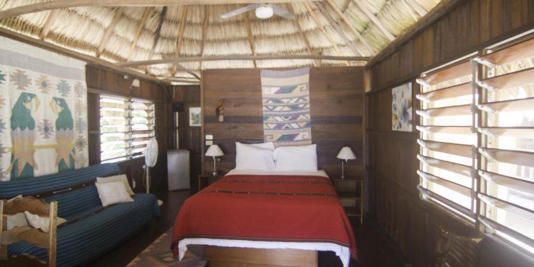 R125 - Green Parrot - Beach cabana