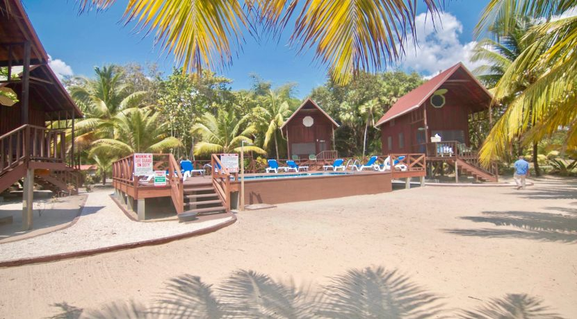 R125 - Green Parrot - Beach houses with pool area