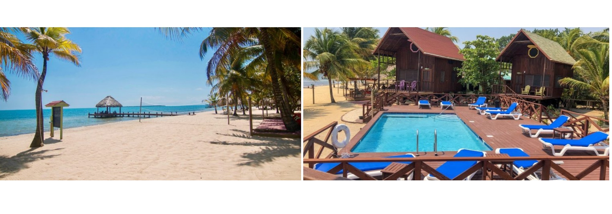 Belize Beach Front Resort for Sale in Maya Beach